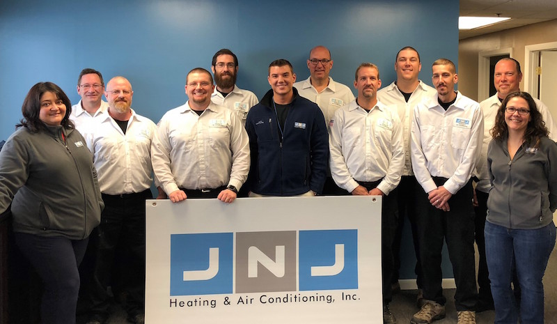 About Us | JNJ Heating & Air Conditioning | Furnace Installation, AC